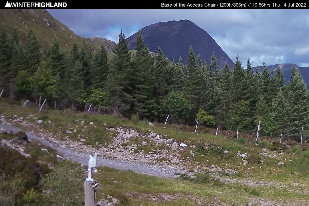 Glencoe SSC Hut webcam