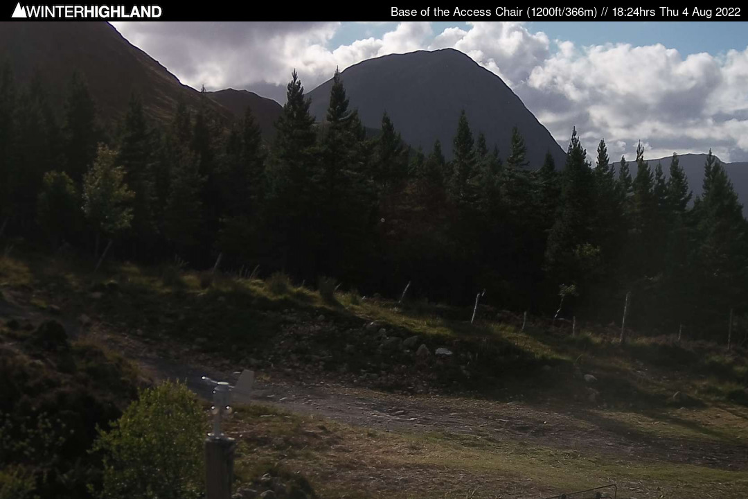 Glencoe Mountain webcams