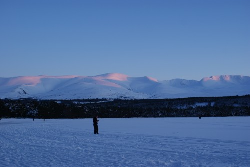 Cairngorms Sunset from Loch Morlich